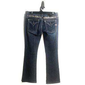 Miss Me Embellished Jeans Angel Wings 29